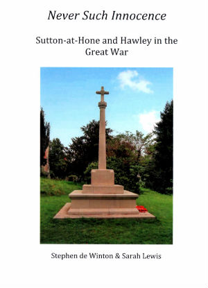 Sutton at Hone War Memorial book cover