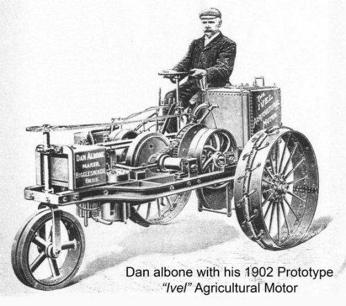 Dan albone ivel tractor 1902