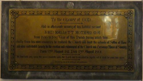 John Hallett Hotham Memorial