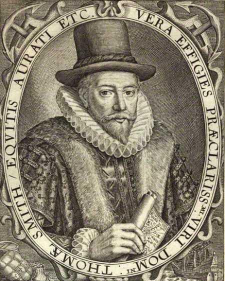 Sir Thomas Smythe Engraving